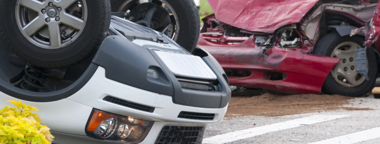 New Jersey Towing: What to do When a Vehicle Rolls Over