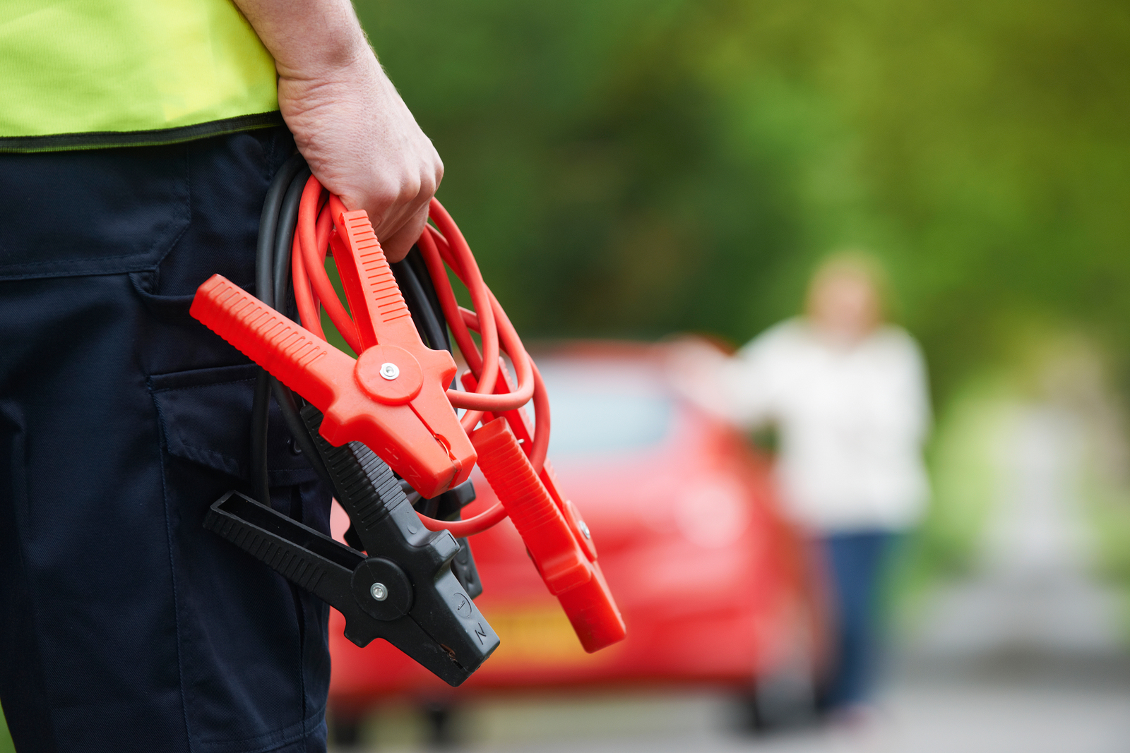 Jumping Your Car Battery - Towing Company vs Good Samaritan