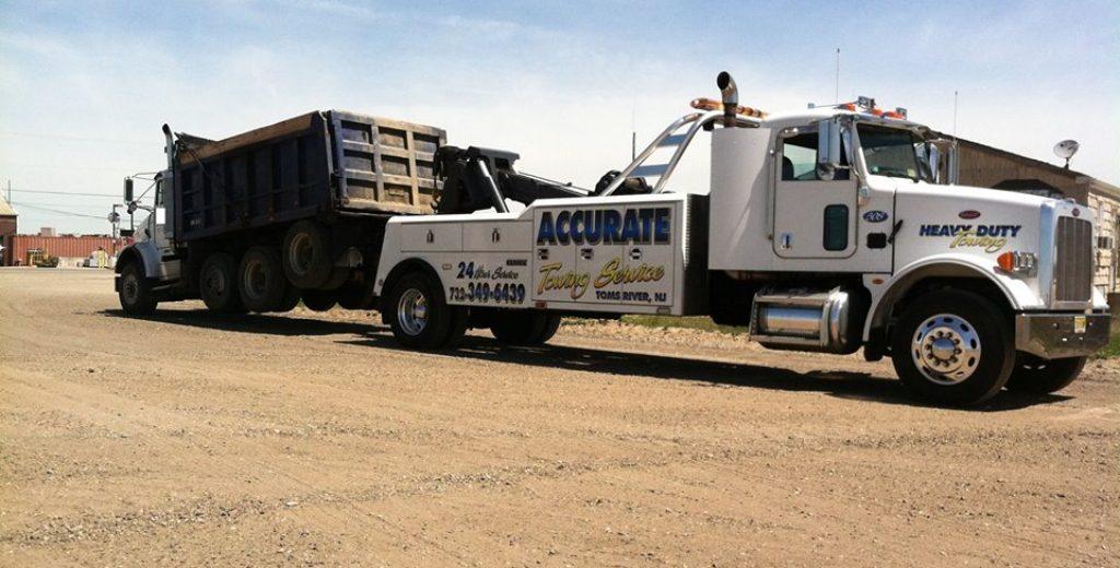 dunp-truck-tow